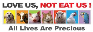 Salah satu kampanye go veggie