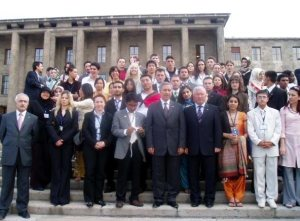 In Ankara, parliamentary house