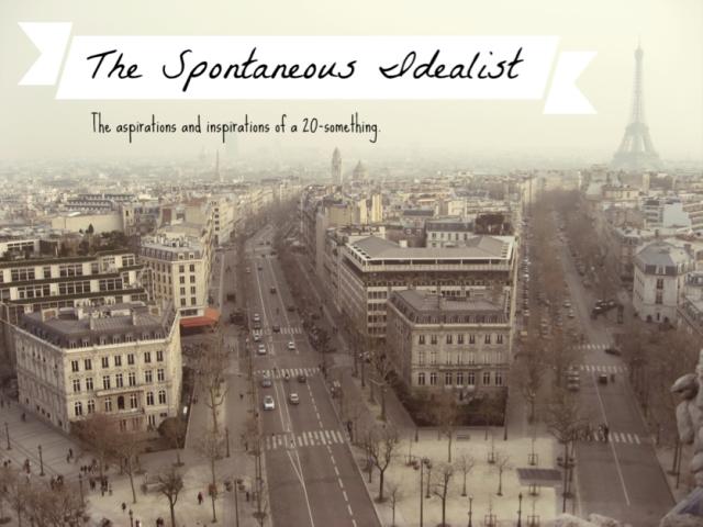 Spontaneous idealist