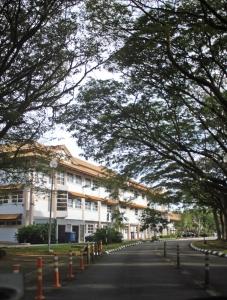 Suasana kampus UBD yang asri